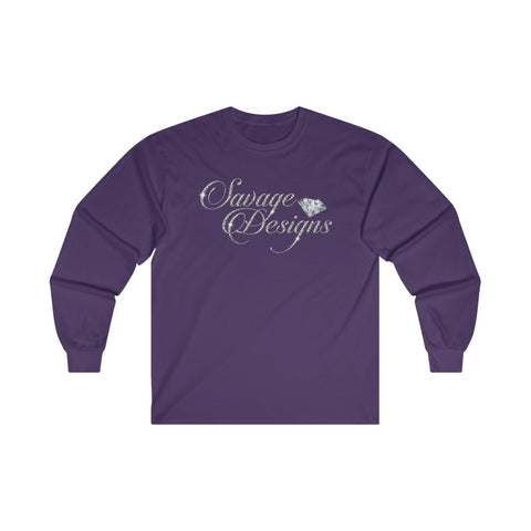 Savage Designs Women's Diamonds Long Sleeve- 3 Colors