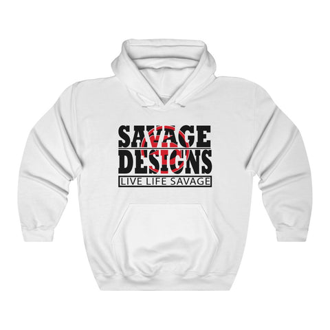The Savage Within Black/Red Hoodie- 3 Colors