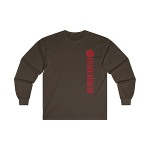 Savage Designs Egyptian Seed of Life Red Long Sleeve- 3 Colors