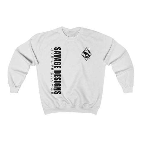 Savage Designs Triple Threat Black Sweatshirt- 12 Colors