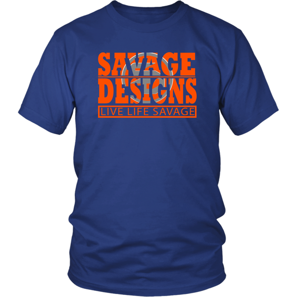 The Savage Within Orange/Grey- 8 Colors