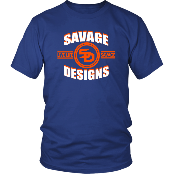 Savage Designs Dead Focus White/Orange- 10 Colors