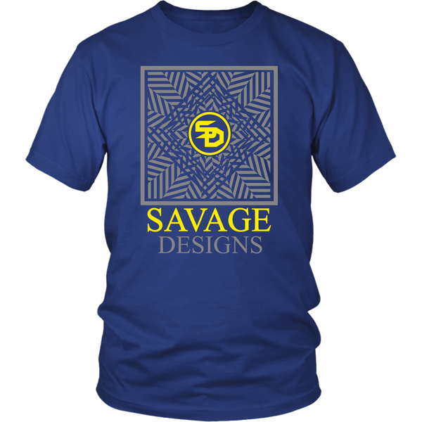 Savage Designs Optical Illusion Grey/Yellow- 7 Colors