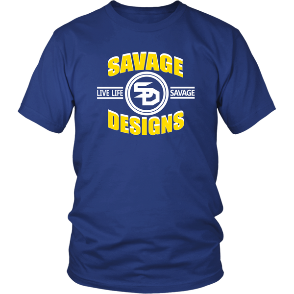 Savage Designs Dead Focus Yellow/White- 13 Colors