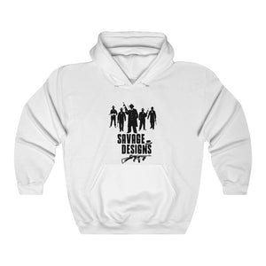 Savage Designs Mob Mafia Black Hoodie- 2 Colors