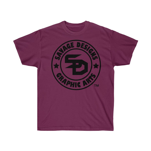 Savage Designs Original Symbol/Live Life Savage Front and Back Print- 2 Colors