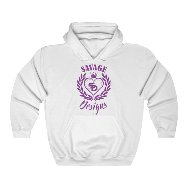 Savage Designs Heart of Hearts Purple Hoodie- 9 Colors
