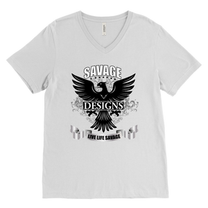 Savage Designs Screeching V-Neck- 1 Color