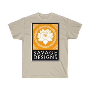 Savage Designs Lotus Flower Gold/White/Black- 1 Color