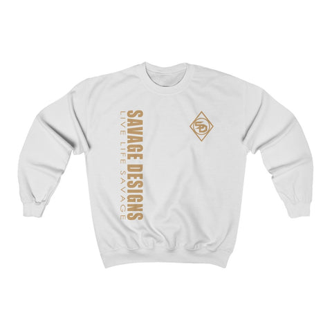 Savage Designs Triple Threat Tan Sweatshirt- 10 Colors