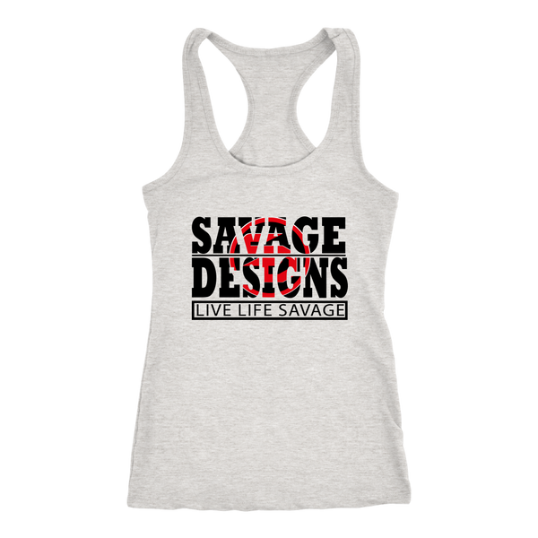 The Savage Within Black/Red Tank Top- 8 Colors