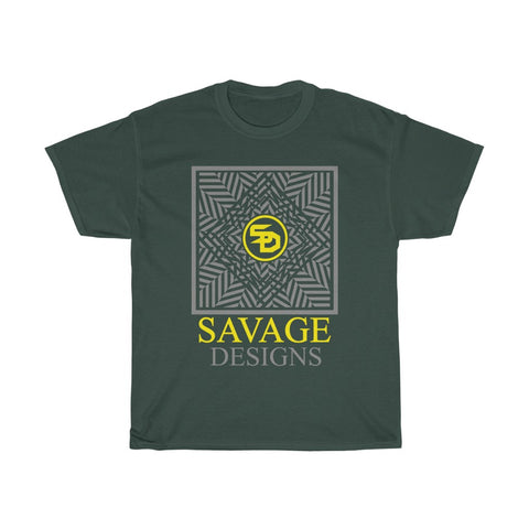 Savage Designs Optical Illusion Grey/Yellow- 2 Colors