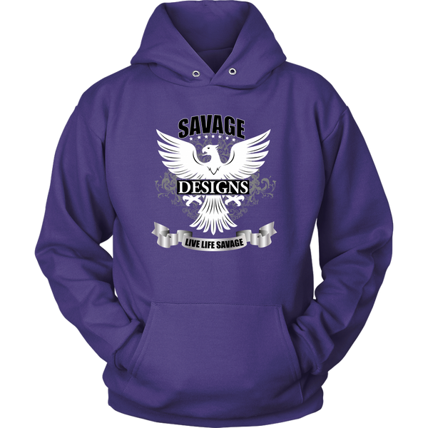 Savage Designs Screeching Falcon Hoodie- 6 Colors