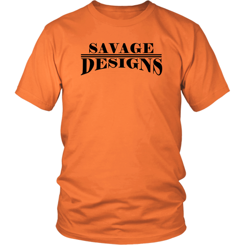 Savage Designs Classic Modern T-shirt Black- 13 Colors