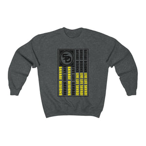Savage Designs Flag Black/Yellow Sweatshirt- 4 Colors