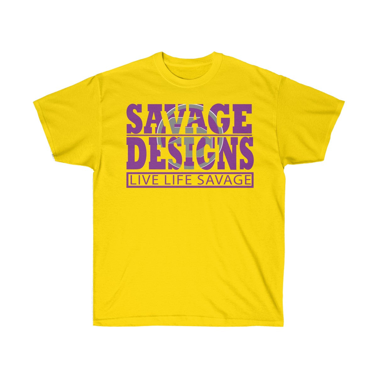 The Savage Within Purple/Grey- 2 Colors
