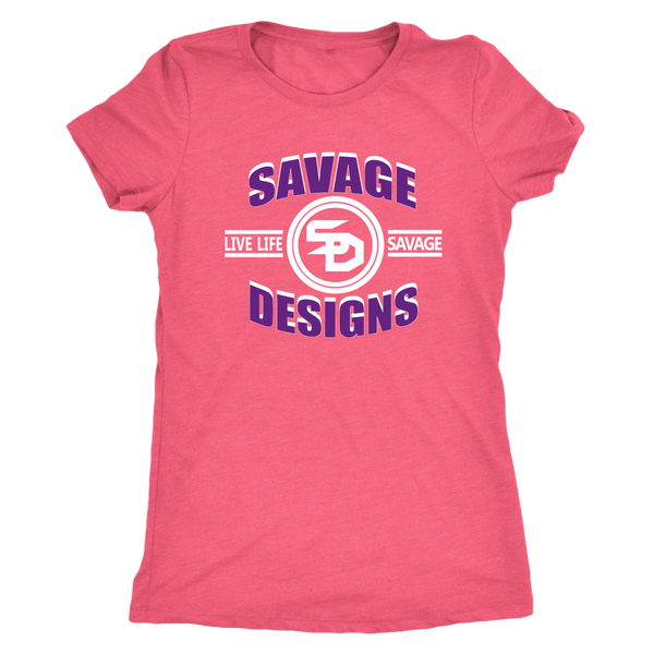 Savage Designs Dead Focus Purple/White- 11 Colors