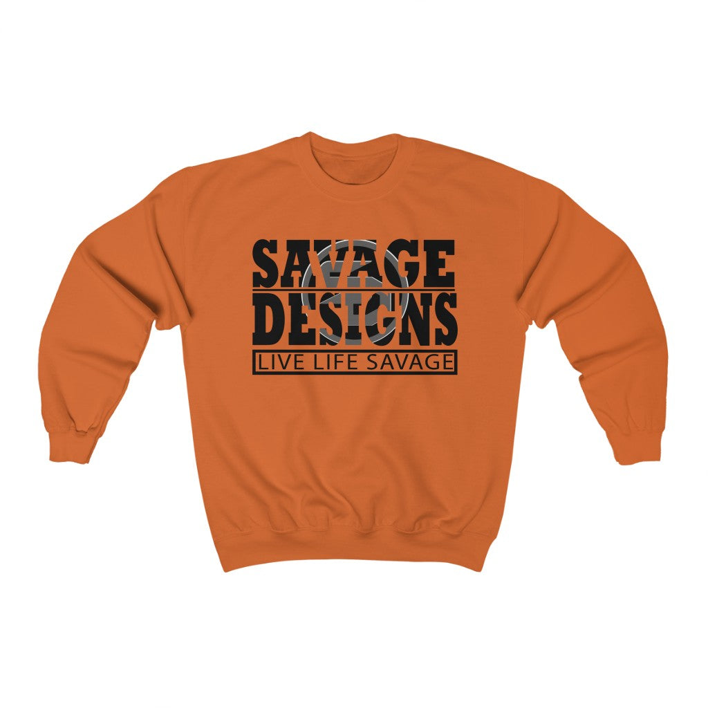 The Savage Within Black/Grey Sweatshirt- 4 Colors