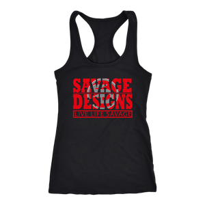 The Savage Within Red/Grey Tank Top- 7 Colors