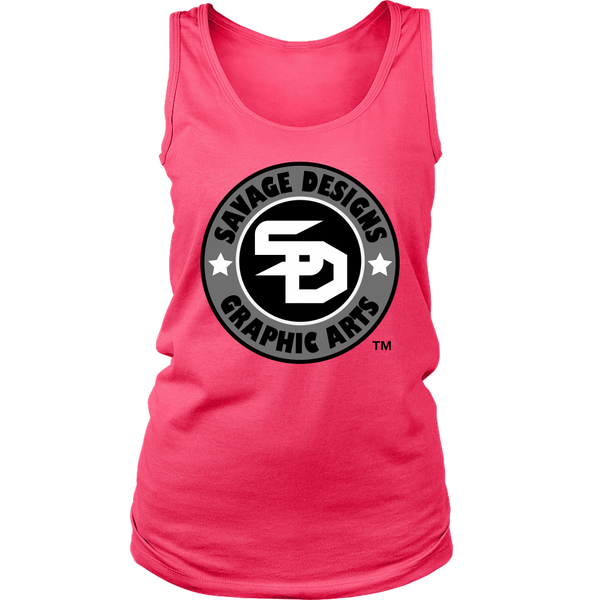 Savage Designs Symbol Patch Original Color Tank Top- 12 Colors