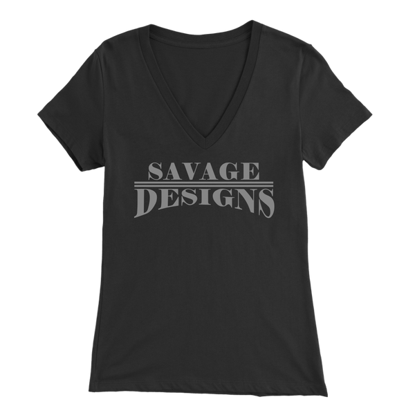 Savage Designs Classic Modern Grey V-Neck- 9 Colors