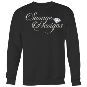 Savage Designs Women's Diamonds Sweatshirt- 7 Colors