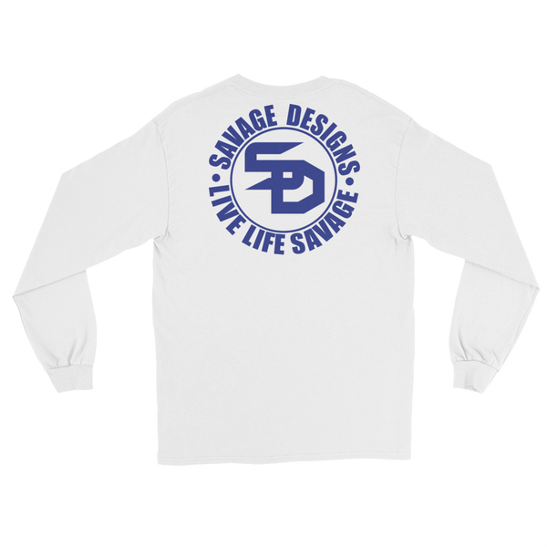 Savage Designs Triple Threat Royal Blue Long Sleeve- 7 Colors