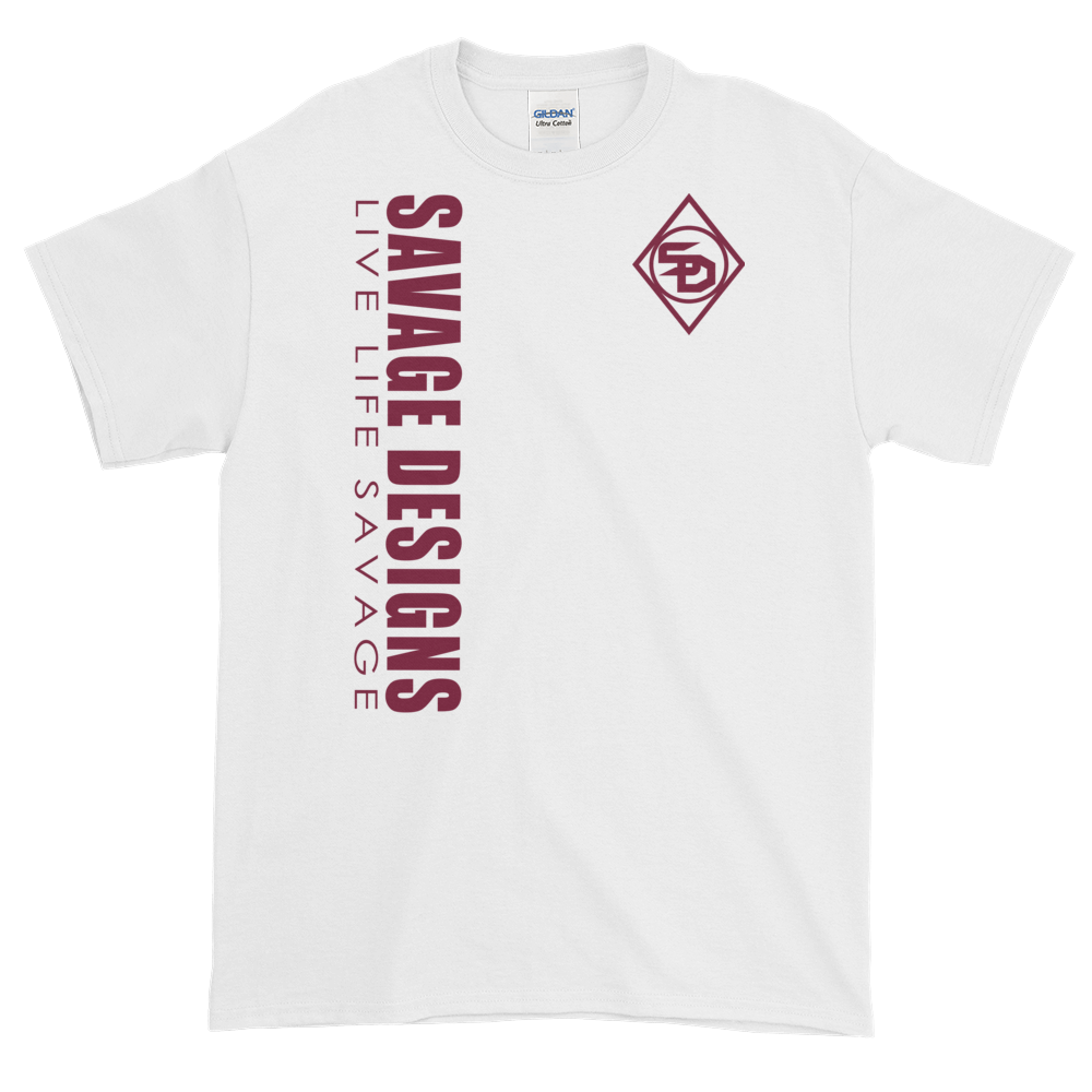 Savage Designs Triple Threat Maroon- 7 Colors