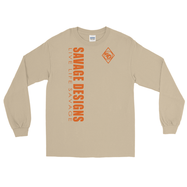 Savage Designs Triple Threat Orange Long Sleeve- 8 Colors