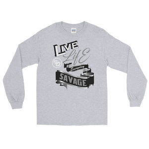 Live Life Everyday Savage White/Black/Grey/Silver- 3 Colors