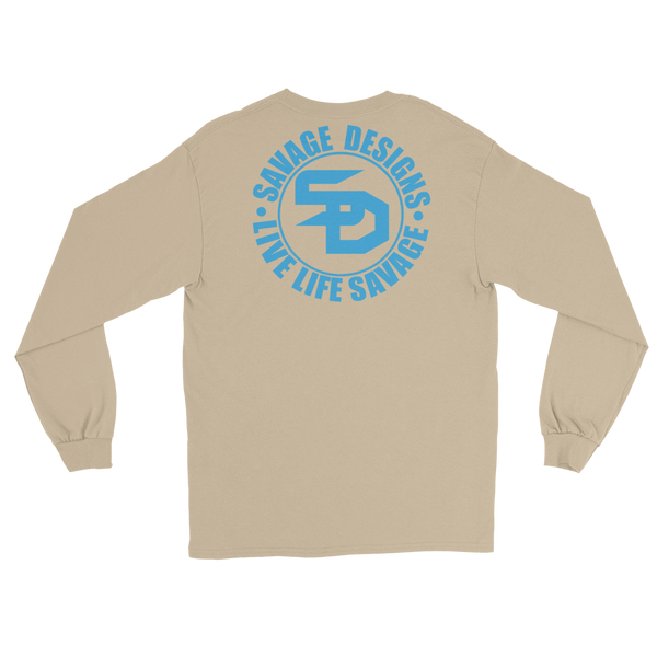 Savage Designs Triple Threat Turquoise Long Sleeve- 8 Colors