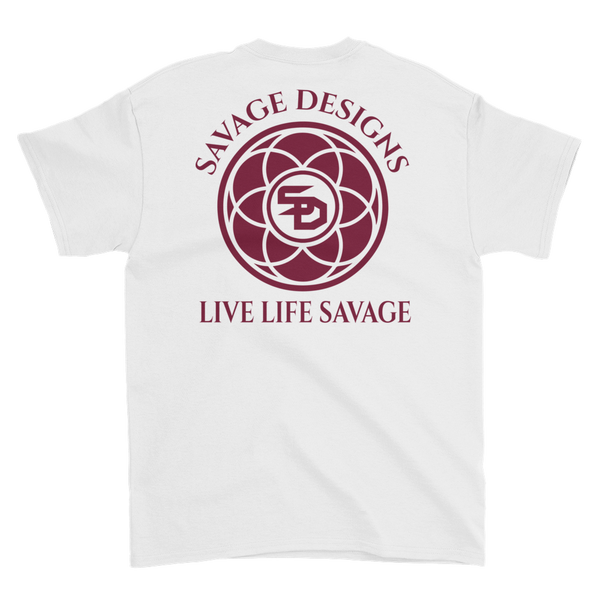 Savage Designs Egyptian Seed of Life Maroon- 8 Colors
