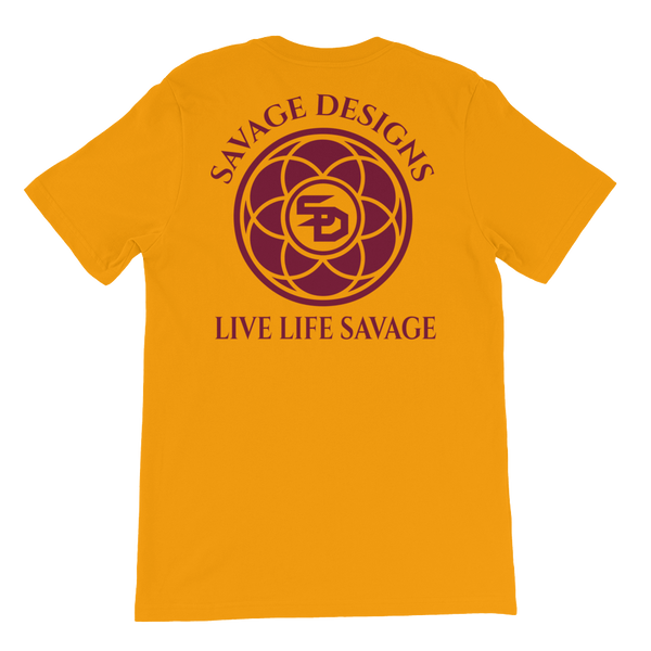 Savage Designs Egyptian Seed of Life Maroon- 9 Colors