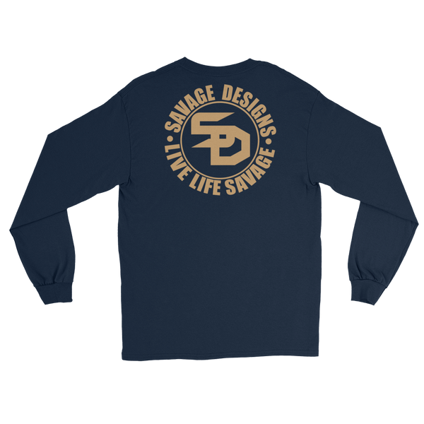 Savage Designs Triple Threat Tan Long Sleeve- 6 Colors