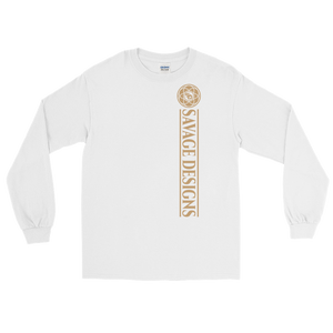 Savage Designs Egyptian Seed of Life Tan Long Sleeve- 5 Colors