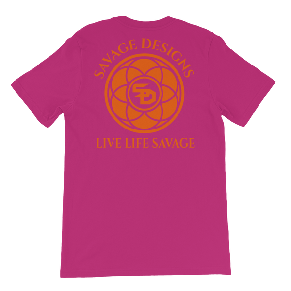 Savage Designs Egyptian Seed of Life Orange- 9 Colors