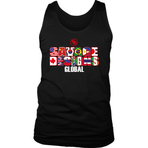 Savage Designs Global Tank Top Front and Back