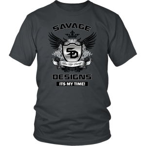 Savage Designs Shield and Wings-2 Colors