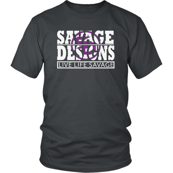 The Savage Within White/Purple- 13 Colors