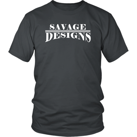 Savage Designs Classic Modern T-shirt White- 14 Colors