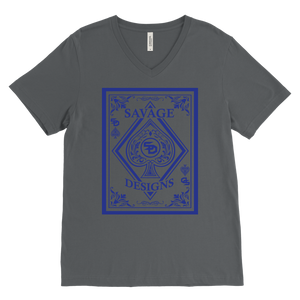 Savage Designs Ace of Spade V-Neck- 9 Colors