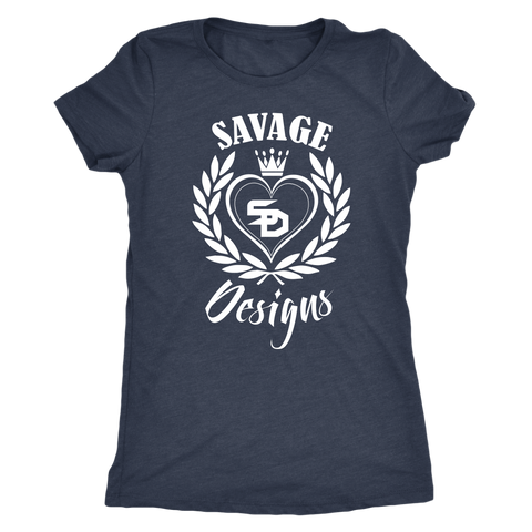 Savage Designs Heart of Hearts White- 8 Colors