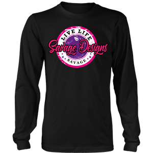 Savage Designs Women's Street Grunge Long Sleeve- 9 Colors