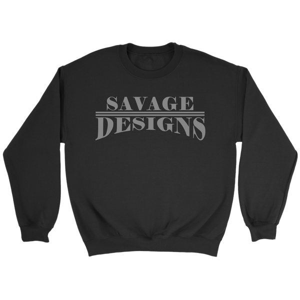 Savage Designs Classic Modern Grey Sweatshirt- 9 Colors