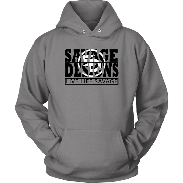 The Savage Within Black/White Hoodie- 7 Colors