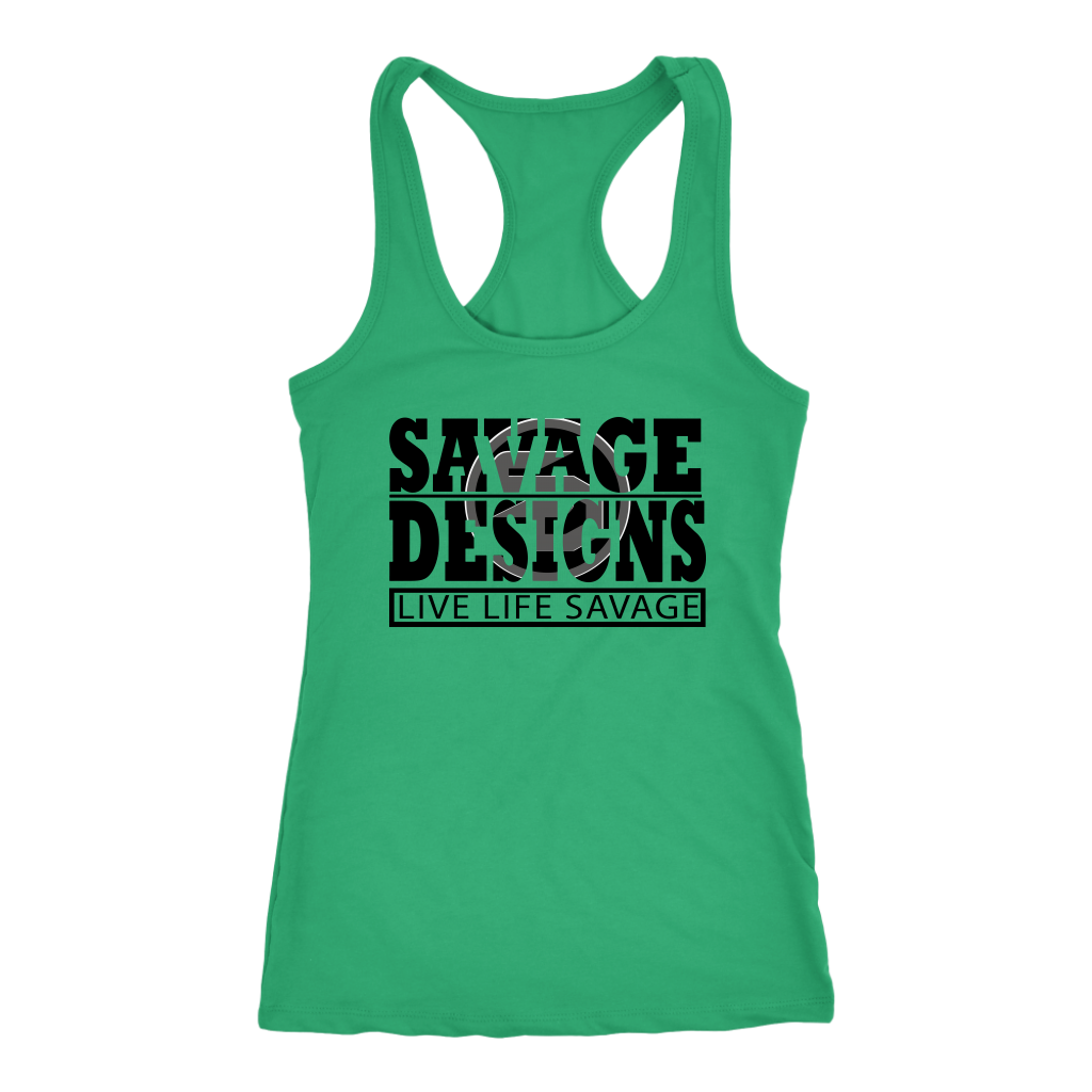 The Savage Within Black/Grey Tank Top- 11 Colors