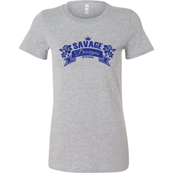 Savage Designs Royal Blossom Royal Blue- 6 Colors