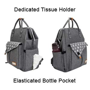 Two Side Dedicated Pockets