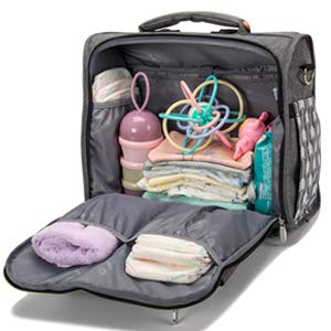 Wide Opening Baby Diaper Bag