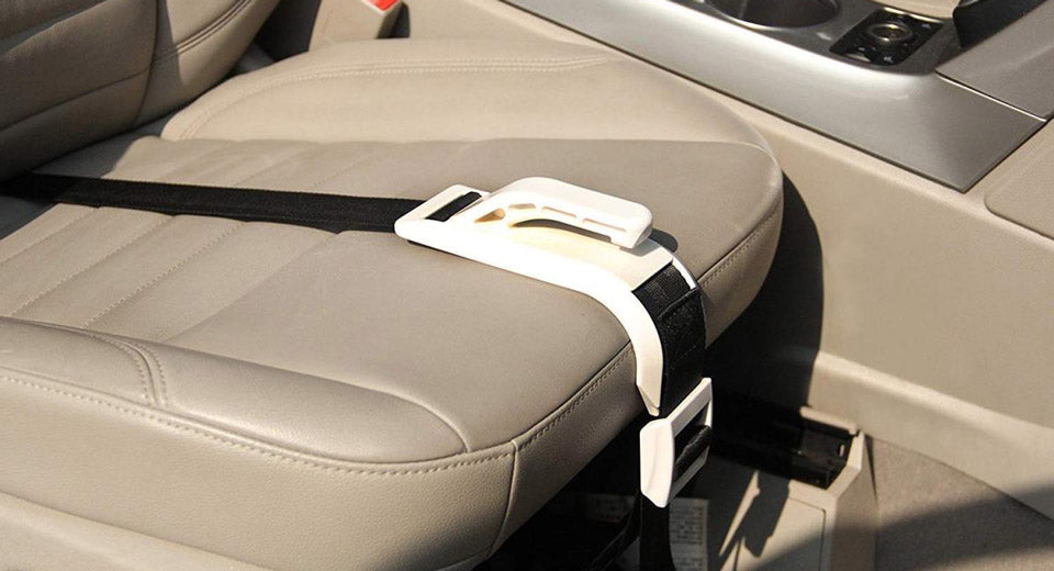 can be fastened tightly in car seat